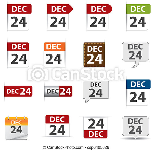 calendar icon for blog - csp6405826