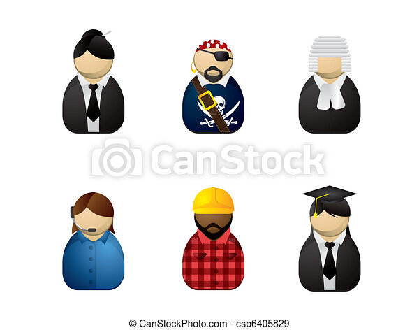 Occupation avatars - csp6405829