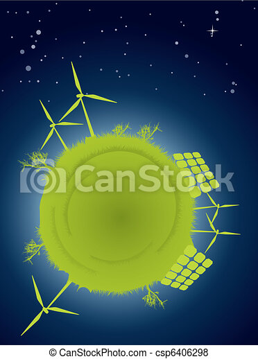 Clean energy concept - csp6406298