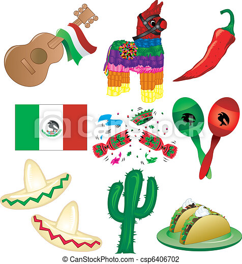 Mexican Party - csp6406702