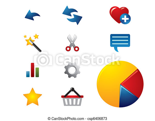 Browser icons - csp6406873