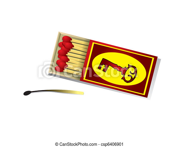 A box of matches - csp6406901