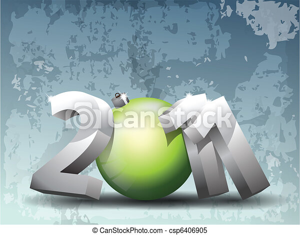 Colorful New Year Celebration - csp6406905