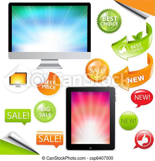 Contemporary Gadgets - csp6407000