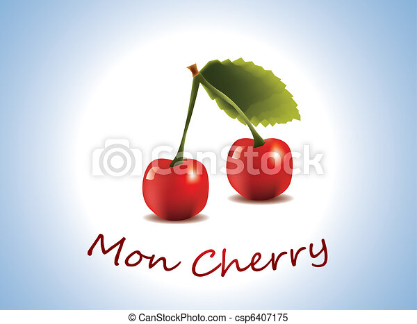 Mon Cherry - fresh cherry fruit - csp6407175