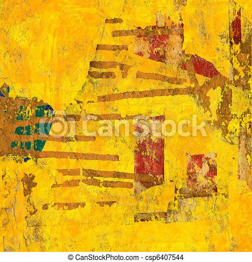 Art Abstract Digital Painting - csp6407544