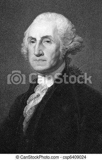 George Washington  - csp6409024