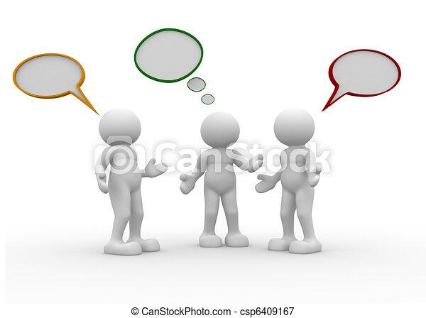 Talking - csp6409167