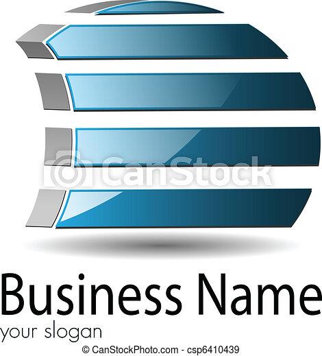 Logo 3d - csp6410439