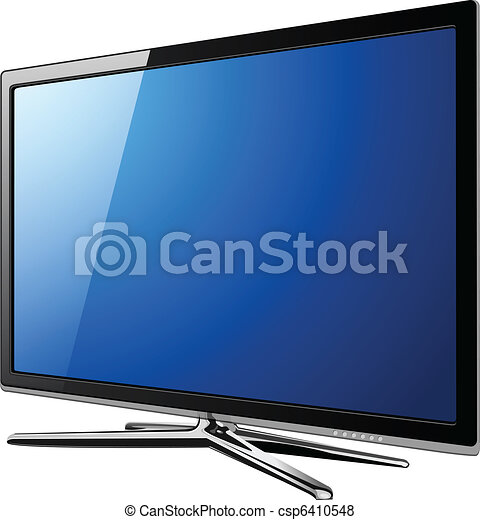 Modern TV lcd - csp6410548
