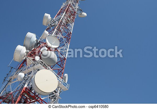 Telecommunications tower - csp6410580