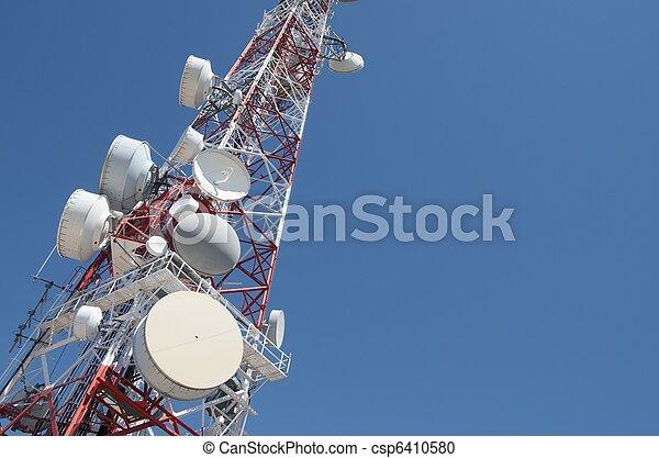 Telecommunications tower - csp6410580