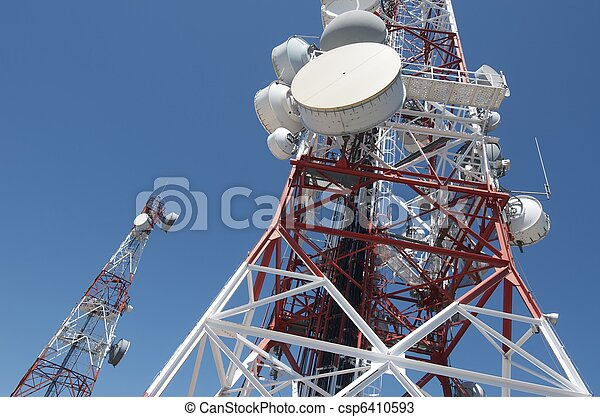 Telecommunications tower - csp6410593