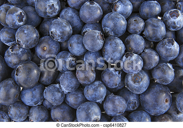 Blueberries background - csp6410827