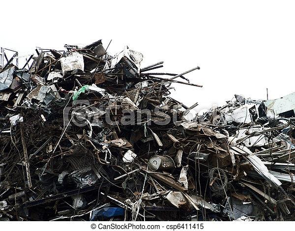 Rubbish tip - csp6411415