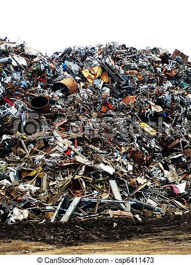 Rubbish tip - csp6411473