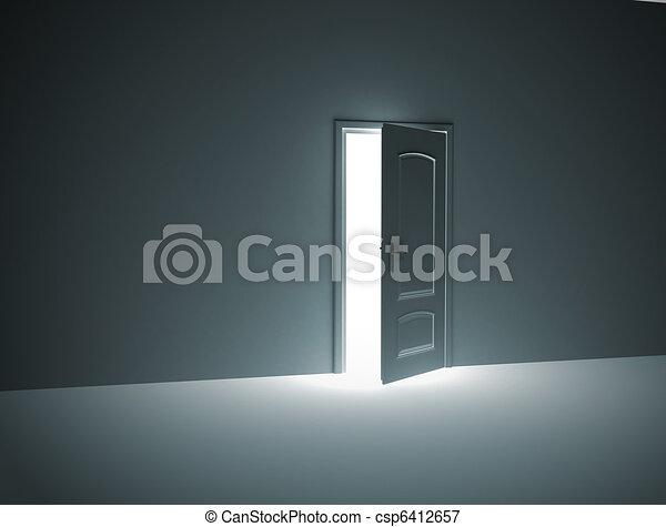 Door opening  - csp6412657