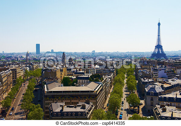 Paris Boulevards - csp6414335
