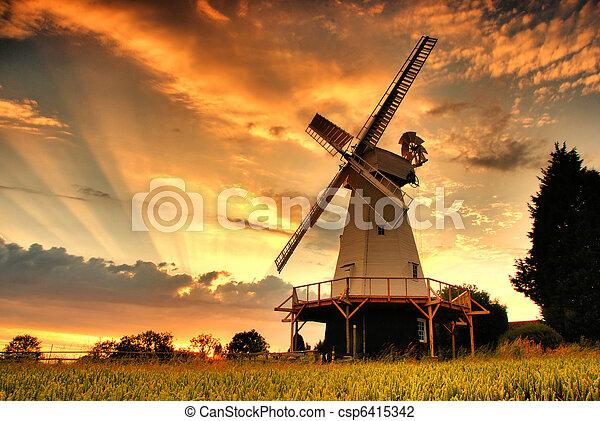 Smock Mill - csp6415342