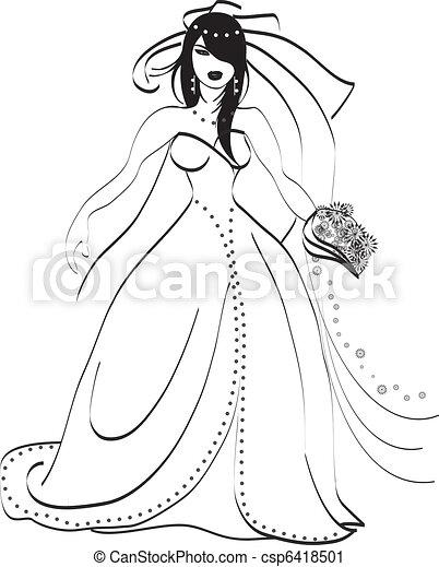 Bride - csp6418501