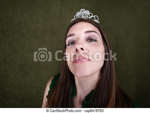 Proud Homecoming Queen - csp6418763