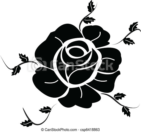 Black Rose - csp6418863