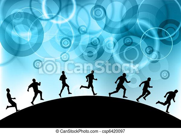 blue runners - csp6420097