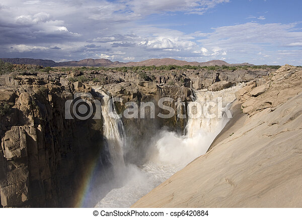 Augrabies waterfall South Africa - csp6420884