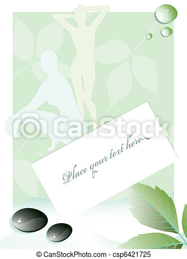 beauty and spa background - csp6421725
