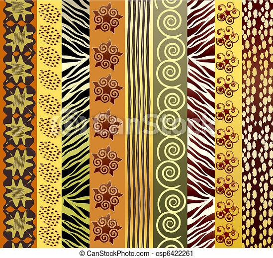 African fabric - csp6422261