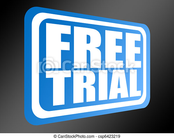 blue free trial  - csp6423219