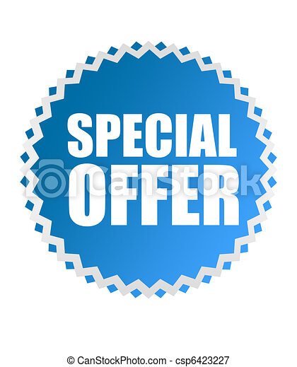 special offer tag - csp6423227
