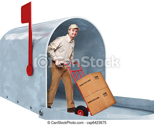 home delivery - csp6423675
