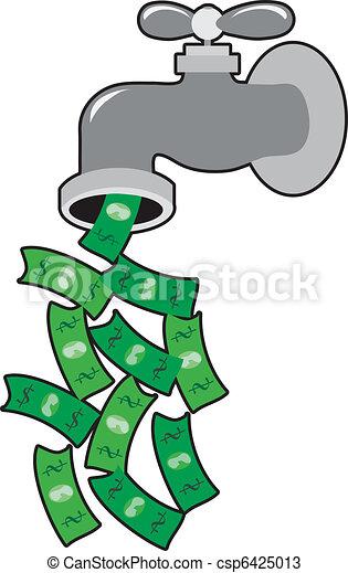 Money Faucet - csp6425013