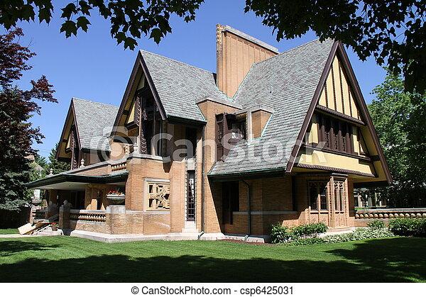 Dramatic architecture - csp6425031