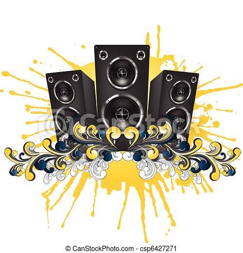 Acoustic Loudspeaker - csp6427271
