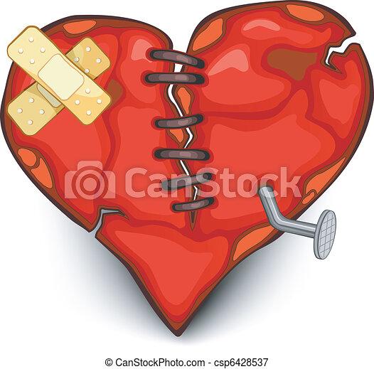 Broken heart - csp6428537