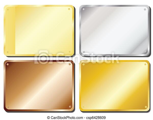 Door plaques - csp6428609