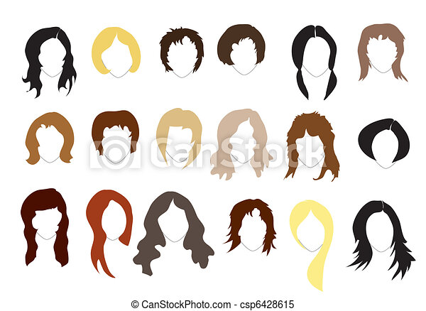 Hairstyles - csp6428615