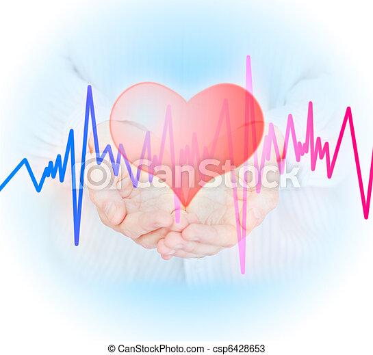 Health insurance concept. - csp6428653