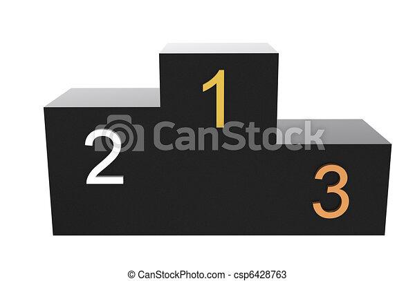 Dessins de podium black podium nombres dans gold - Dessin podium ...