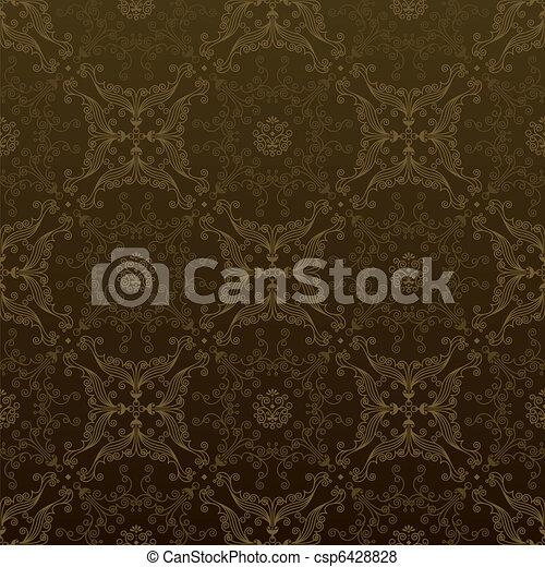 Seamless Gold - csp6428828