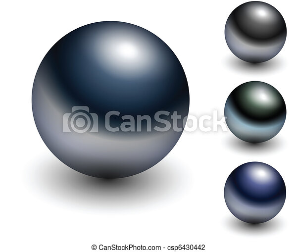 Chrome sphere - csp6430442