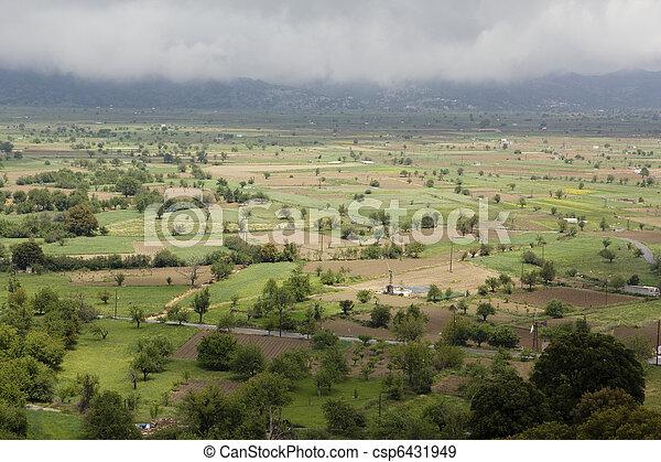 Lassithi plateau.   - csp6431949