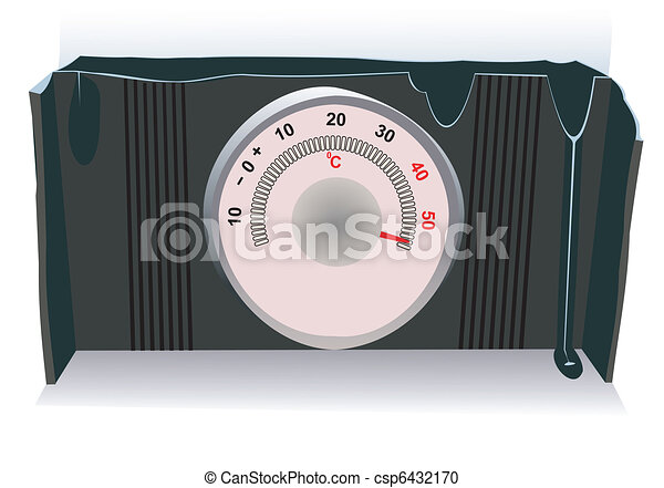 The hot thermometer - csp6432170