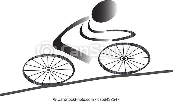 Cycling icon - csp6432547
