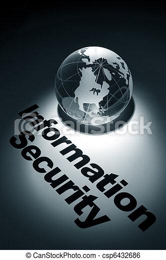 informazioni, sicurezza - csp6432686