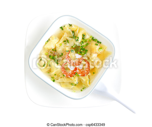 how to make wonton soup stock