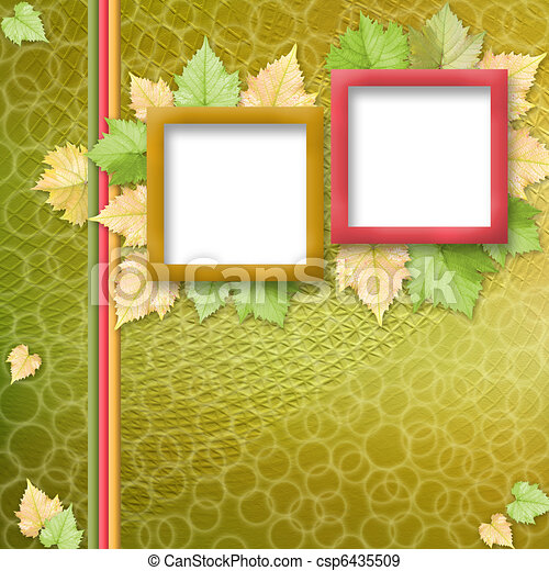 multicoloured holiday frames for greetings or invitations - csp6435509