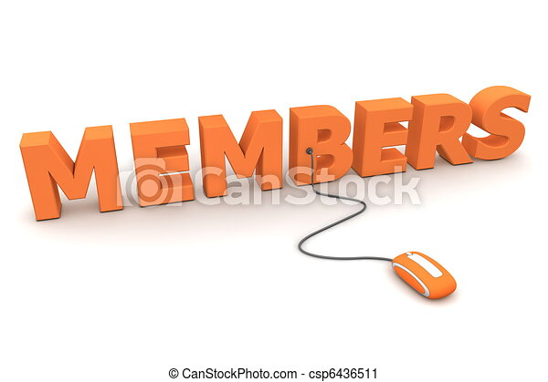 Browse the Orange Members - Orange Mouse - csp6436511